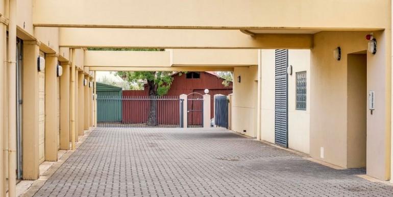 carpark entrance