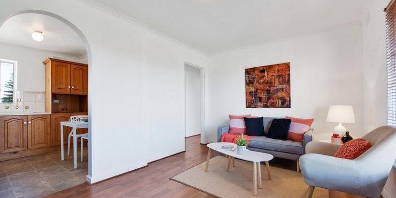 lounge plus kitchen